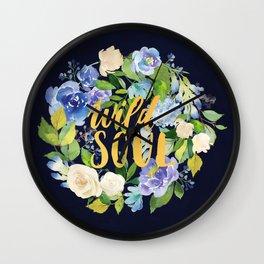 Wild Soul Wall Clock