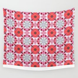 Poppy Pattern Wall Tapestry