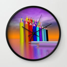 time to draw a picture -3- Wall Clock