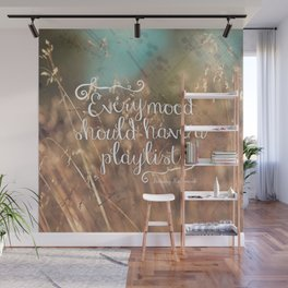 Strains of Silence by Bethany Kaczmarek | Quote 2 Wall Mural