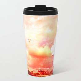 The Lost Horizons in Red Travel Mug