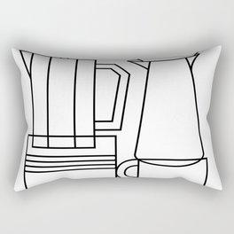 COFFEE. Rectangular Pillow