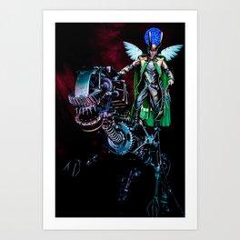 Loki's Pet Art Print