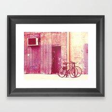 Pedal Framed Art Print
