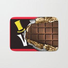 Wonka Chocolate Bar Bath Mat