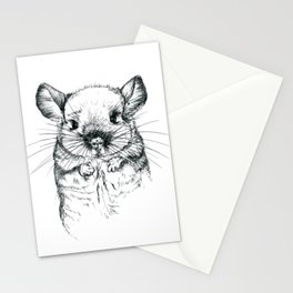 Chinchilla my love Stationery Cards