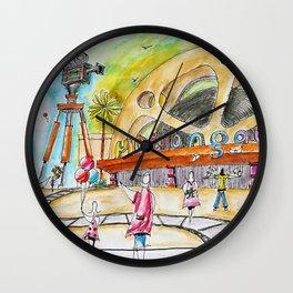 Motiongate Dubai Arrival Plaza Wall Clock
