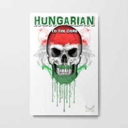 To The Core Collection: Hungary Metal Print