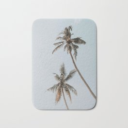 two palm trees Bath Mat