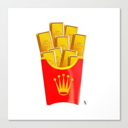 Rollie Chips Canvas Print