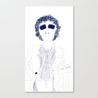 randy c Canvas Prints featuring Randy Newman  by awall