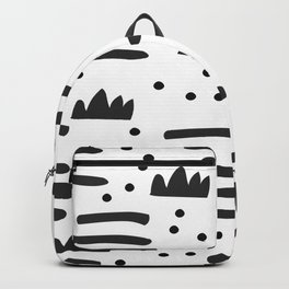 Abstract scandinavian art Backpack