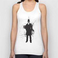 watchmen Tank Tops featuring WATCHMEN - RORSCHACH (YELLOW EDITION) by Zorio