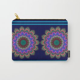 Floral Splendor Carry-All Pouch
