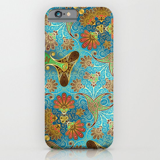 Indian Floral iPhone & iPod Case