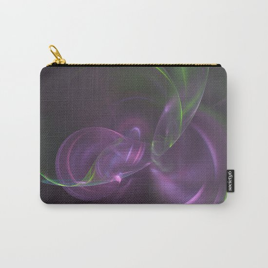 Cosmic Aurora Fractal Carry-All Pouch