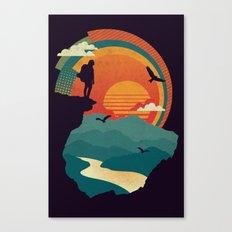 Cliffs Edge Canvas Print