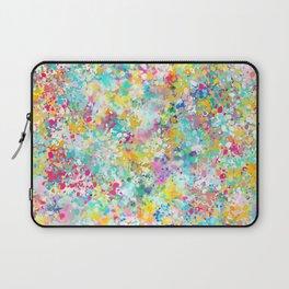 Spring Confetti Brushstrokes Laptop Sleeve