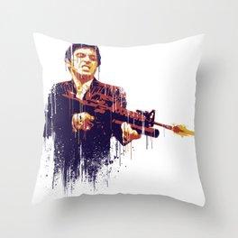 Scarface Throw Pillow