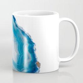 Ocean blue slice of agate Coffee Mug