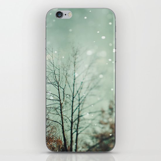 First Snowfall  iPhone & iPod Skin