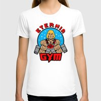 gym T-shirts featuring Eternia Gym by Buby87