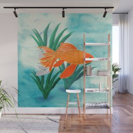 The Goldfish Wall Mural