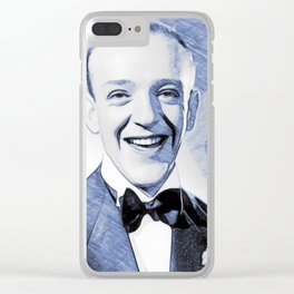 Fred Astaire, Hollywood Legends Clear iPhone Case