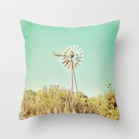 american beauty Throw Pillows featuring American Beauty Vol 13 by Farmhouse Chic