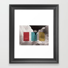 simplicity is freedom Framed Art Print