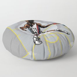 DR. J: On the Offensive Floor Pillow