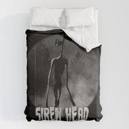 Scary Siren Head vintage meme Comforters