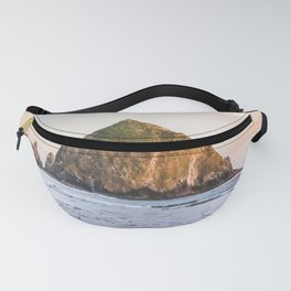 Cannon Beach Sunset at Haystack Rock Fanny Pack