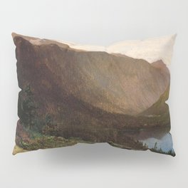Mount Lafayette Franconia Notch New Hampshire 1870 By Thomas Hill | Reproduction Pillow Sham