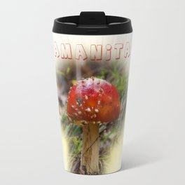 Mushroom Amanita muscaria Travel Mug