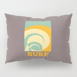 Surf Abstract Wave Pillow Sham