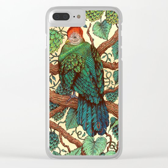 Tipsy Turaco Clear iPhone Case
