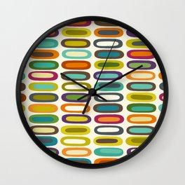 lozenge pearl Wall Clock