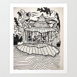 dreams meet reality Art Print
