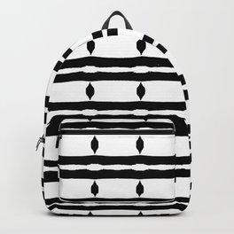 Black & White Pattern Backpack