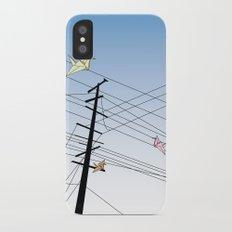 Birds on a wire Slim Case iPhone X
