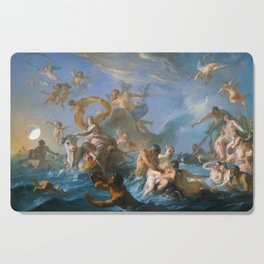 The Abduction of Europa by Noel-Nicolas Coypel, 1727 Cutting Board
