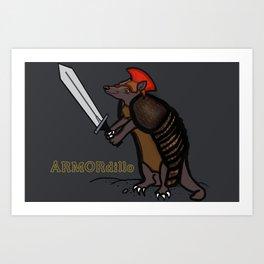 ARMORdillo Art Print