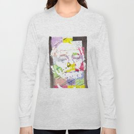 """Bill F. Murray"" Original Watercolor by RICK LONG Long Sleeve T-shirt"