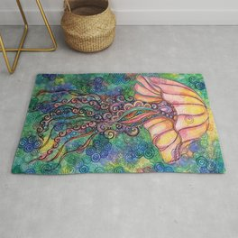 My Squishy Jelly Fish Rug