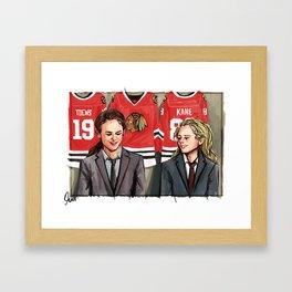 63 kt Framed Art Print
