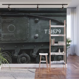 Sidehatch and Bogie Wheels Wall Mural