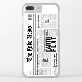 The Fake News Vol. 1, No. 1 Clear iPhone Case