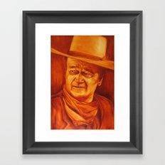 The Duke Framed Art Print