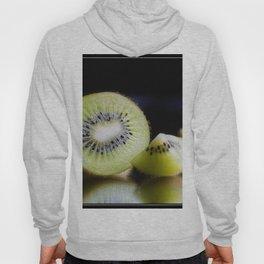 Sliced Kiwi Fruit - Kitchen or Cafe Decor Hoody